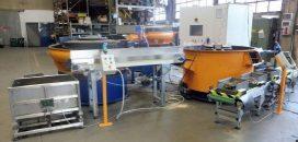 Impianto Automatico Di Levigatura E Lucidatura Chiavi